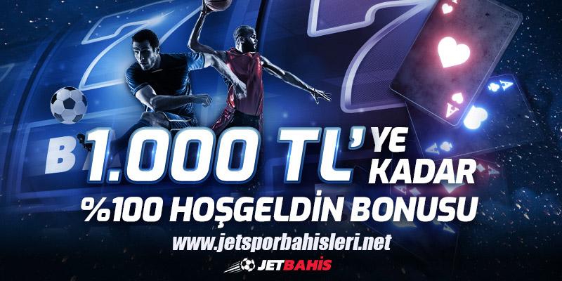 Jetbahis Kayıt Ol 1000 TL Bonus Kazan
